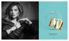 Daria Werbowy Fronts Tiffany & Co. Atlas Jewelry Campaign