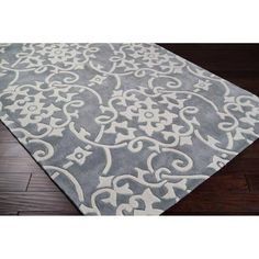 Artistic Weavers - Haisnes Silver Gray Polyester Area Rug - 5 Feet x 8 Feet - Haisnes-58 - Home Depot Canada
