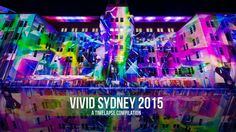 Vivid Sydney 2015 timelapse footage, the biggest and best light festival in the world! Ocean House, Say Hi, Sydney, Australia, World, Snapchat, Watch, Music, Youtube