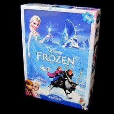 "Disney Frozen Jigsaw Puzzles 300 Pieces #11, 15 x 20.5"", Elsa Anna Olaf Kristoff #Disney"