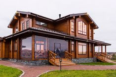 Trendy Home Design Country Interiors Dream Home Design, Modern House Design, My Dream Home, Log Cabin Homes, Dream House Plans, Wooden House, Facade House, Next At Home, House In The Woods