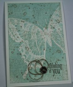 Tina's Stamp and Scrap Blog: VIP-Donnerstag 04/2014 - Embossing Resist Technik