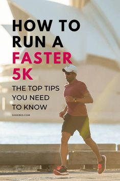 Are you looking to train to run a 5k faster? If you do, you'll learn the top tips on how you can train for a 5k and how to run a 5k fast at Sheebes. #sheebes #runningtips #5ktraining Running For Beginners, How To Start Running, How To Run Faster, Workout For Beginners, Running Training Plan, Running Race, Training Tips, Interval Running, Running Workouts