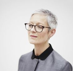 20 Gorgeous Pixie Haircuts on Women Over 50: Glasses are Wonderful Paired With a Pixie