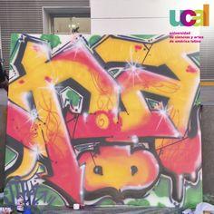 Graffiti ganador  #SemanaUniversitariaUCAL