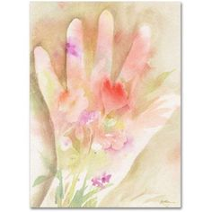 Trademark Fine Art The Gardener Canvas Art by Sheila Golden, Size: 35 x 47, Multicolor
