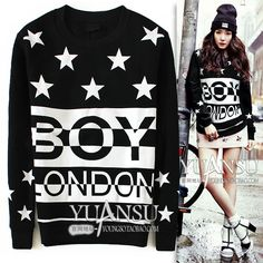 Find More Information about Yuansu Store new 2014 Fashion women's hoodies five pointed star pattern black thick plus velvet pullover long sleeve sweatshirt,High Quality pullover turtleneck,China sweatshirt zipper Suppliers, Cheap pullover from yuansu  on Aliexpress.com