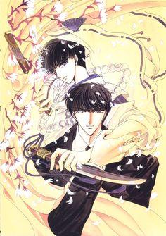 X (Seishirou Sakurazuka, Subaru Sumeragi) - Minitokyo Tokyo Babylon, Subaru, Otaku, Splash Page, Manga Artist, Manga Pictures, Japanese Artists, Me Me Me Anime, Mobile Wallpaper