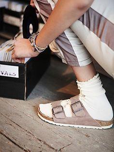 af6324eab Free People Arizona Summer Sole Sandal -  131.69 Birkenstock With Socks
