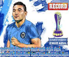 Mexican soccer league illustrations by Jesús R. Sánchez, via Behance