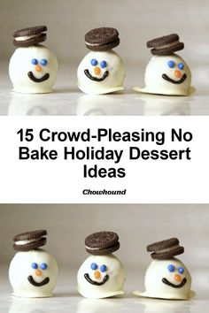 Desserts For A Crowd, Holiday Desserts, No Bake Desserts, Dessert Recipes, Dessert Ideas, New Recipes, Sweet Recipes, Baking Recipes, Dessert Halloween