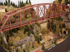 HO scale Scratch Built Bridge. Found in Ohio, 2014