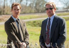 Rustin Cohle and Marty Hart
