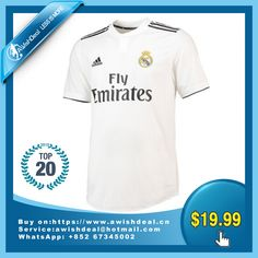 e78564750 Click to buy 18-19 Real Madrid Home Soccer Jersey Shirt(Player Version)