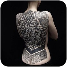 Tattoo Girl Back - dubuddha-tattoo