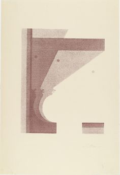 Oskar Schlemmer (German, 1888–1943) Three Profiles, the One in the Middle Vertical (Drei Profile, das mittlere senkrecht) from Play on Heads (Spiel mit Köpfen), c. 1920, published 1923