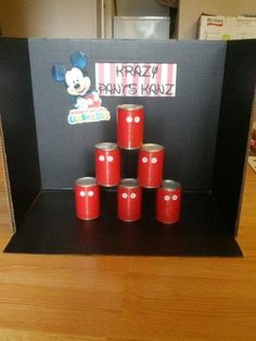 Krazy pants kanz game.  See more Mickey Mouse birthday party and kids birthday party ideas at www.one-stop-party-ideas.com