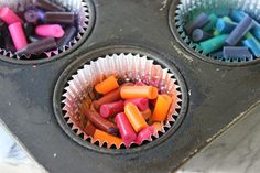 How to Melt Color Crayons (with Pictures) Diy Crayons, Crayon Crafts, Color Crayons, Crayon Art, Melting Crayons, Toddler Science Experiments, Science For Kids, Arts And Crafts Projects, Fun Crafts