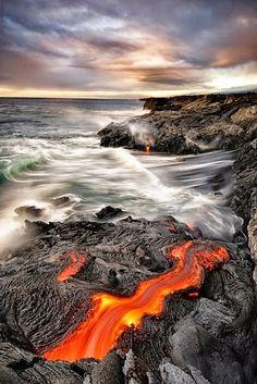 Indrukwekkende vulkaanuitbarstingen.