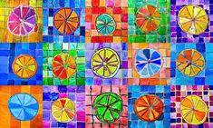 Citrus fruits in complementary colors (Arte a Scuola) Color Art Lessons, Art Lessons For Kids, Art Lessons Elementary, 6th Grade Art, School Art Projects, Elements Of Art, Art Lesson Plans, Art Classroom, Art Plastique