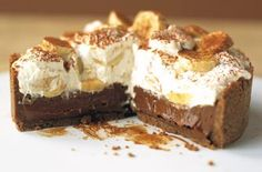 Phil Vickery has updated the classic banoffee pie recipe, making it even more delicious by adding black treacle, mixed spice and dark chocolate. This is a tempting treat that no-one will be able to resist! This recipe serves 8 people and will take around 35 mins to prepare and bake - and its well worth the wait! The chocolate in this mouth-watering banoffee pie really does work wonders with the soft banana, rich toffee and heaps of cream. It's a real treat for dessert that the whole family…