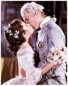 Richard Chamberlain and Gemma Craven in The Slipper and the Rose