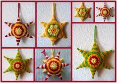 Décorations de Noël (ou pas!) originales et colorées ~ Maman Fée du Crochet