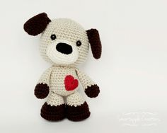 Sammy The Puppy Amigurumi Pattern
