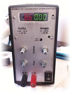 Variable Lab Power Supply (1 - 24 V, 0 - 1 A)