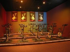 The studio at St. Andrew's Family Fitness Plus in Charleston, SC
