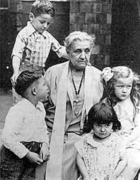 "Jane Addams, (Women's International League for Peace and Freedom) 1st woman awarded the Nobel Peace Prize, 1931. ""The good we secure for ourselves is precarious and uncertain until it is secured for all of us and incorporated into our common life."" . . . ""America's future will be determined by the home and the school. The child becomes largely what he is taught; hence we must watch what we teach, and how we live."""