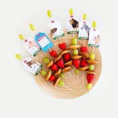 Traktatieklets! fruitspies (by Eef Ouwehand) gezinnig.nl