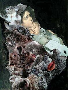 madonna collage 40x60