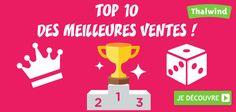TOP 10 des #meilleures #ventes des # jeux de société  #Best seller of #boardgames #board #games