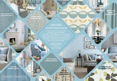 Pantone Spring Summer 2015 Color Report Aquamarine decor inspiration