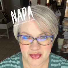 Napa LipSense by SeneGence is a cool color. You can view it on people, look at combos or comparisons or even in a collage.  However, nothing rivals seeing it on a real person.  Click to purchase yours NOW!  #lipsense #senegence