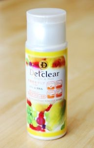 Review: DET Clear Fruit Enzyme Powder Wash | *cosmeddicted*
