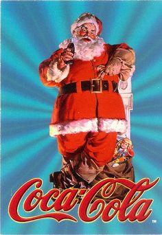 coca cola santas | Coca-Cola Santa's