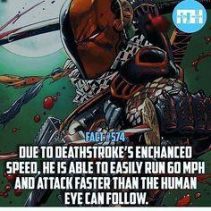 Deathstroke fact