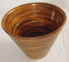 large Cherry & Walnut bowl
