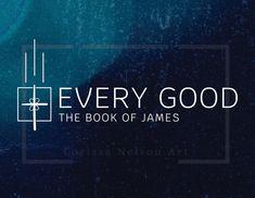 James - church art for print and screen Book Of James, Church Graphic Design, Art Folder, Pentecost, Worship, Good Books, The Book, Social Media, Education