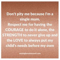 do single moms put out