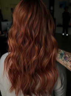 Copper Rose Amazing Hair Color Ideas 2019 Beautiful Red Hair, Amazing Hair, Love Hair, Latest Hair Color, Cool Hair Color, Hair Colors, Unique Hairstyles, Messy Hairstyles, Pretty Hairstyles