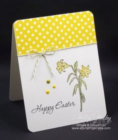 Stampin' Up! Easter Message Stamp Set