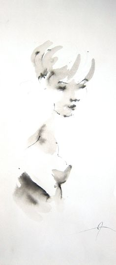 Title:Caitlin; Artist Name:John Power; Description:A sided viewed pen & ink drawing of a model wi...; Art Form:Drawings / Sketch; Style:Realism,Romanticism; Media:Ink; Genre:Erotic,Figurative,Nudes