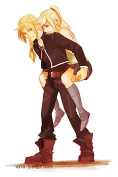 Ed Winry one of the cutest scenes