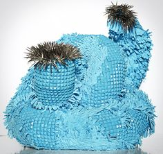 Art, Textil Sculpture, escultura textil, arte textil, textil art. Fernanda Salome