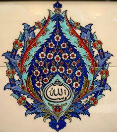 Desen Turkish Tiles, Turkish Art, Geometric Art, Geometric Designs, Islamic Designs, Tile Patterns, Print Patterns, Islamic Tiles, Arabic Calligraphy Art