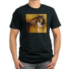 shetland sheepdog laying T-Shirt > Shetland Sheepdog > Paw Prints 5