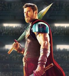 Thor Ragnarok Movie Poster 2017 Featuring Chris Hemsworth as Thor Odinson, Check out all 21 Thor Ragnarok Easter Eggs - DigitalEntertainmentReview.com